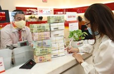 Reference exchange rate down 22 VND