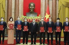 President assigns tasks to newly-appointed ambassadors