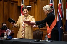 Congratulations to new Governor-General of New Zealand