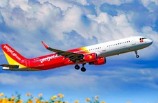 Vietjet re-opens all routes, offering discounted tickets