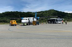 Vietnam Airlines operates first flight to Con Dao after social distancing period