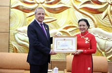Algerian Ambassador honoured with friendship insignia