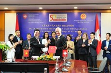 Switzerland grants 5 million CHF for Vietnam's trade promotion policy