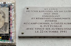 80th death anniversary of anti-fascists combatants held in Paris