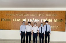 Thu Duc city's intelligent operation centre goes official