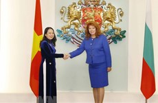 Vice President Vo Thi Anh Xuan meets Bulgarian leaders