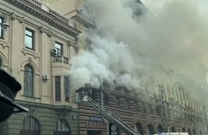 No Vietnamese injured in Moscow office building fire