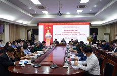 Seminar on press sector's task of protecting Party's ideological foundation