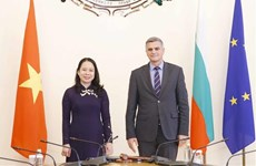 Vice President meets acting Prime Minister, Foreign Minister of Bulgaria