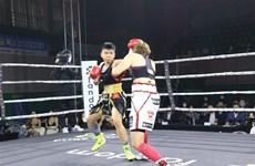 Female boxer ranks fourth in world's mini-flyweight ranking