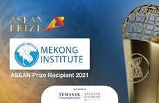 Mekong Institute receives ASEAN Prize 2021