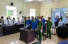 Prison sentences announced for Truong Chau Huu Danh, his accomplices