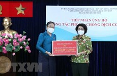 Lao province assists HCM City in COVID-19 combat