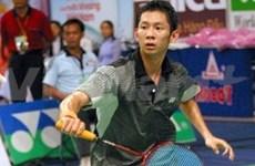 Tien Minh defeats world number 1 badminton player