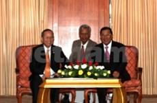 Vietnam, Cambodia talk further cooperation