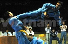 Hosts come top after first day of Vovinam chams