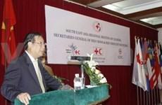 Southeast Asian National Societies' leaders meet in HN