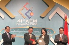Agreement to tighten ASEAN, China economic ties