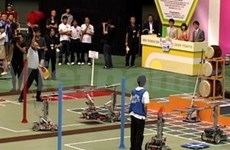 Vietnam comes third at ABU Robocon 2009 TOKYO