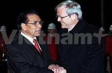 Newspapers reflect warm relations between Vietnam and Australia