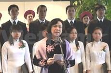Hanoi hosts reception for diplomats in Paris