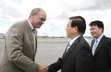 State President starts Cuba visit
