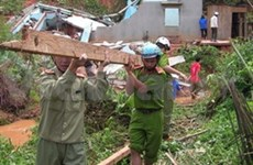 Russian president's condolences over storm losses