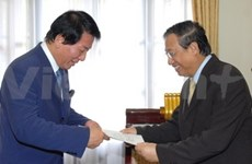 Japan-Vietnam Special Ambassador welcomed