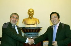 VN, Russian news agencies expand cooperation