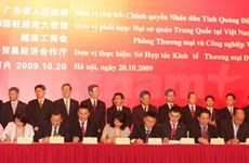 24 projects signed at VN-Guangdong trade forum