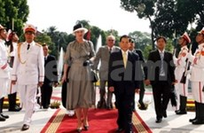 State President welcomes Danish Queen to Hanoi