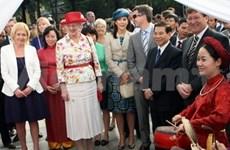 Danish Queen Margrethe busy in Hanoi
