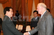 State leader receives US ex-president Carter