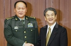 Japan, China vow to deepen defence relations