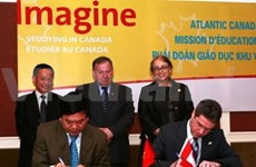 Agreements signed during Canadian mission's visit