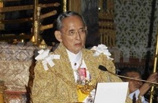 Thai king calls for national unity on birthday