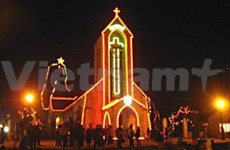 Leaders emphasise religious unity on Christmas Eve