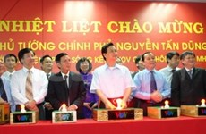 PM launches traffic information channel in HCM City