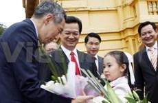 Vietnam, Singapore pledge to boost comprehensive ties
