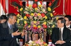 Singaporean PM highlights VN's development