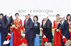 Construction of VN-Singapore IP starts in Hai Phong
