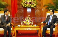 Vietnam, Cambodia vow to build peaceful border