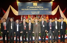 Vietnam to raise initiative at APPF meeting