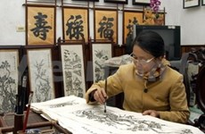 Folk painting making proposed for UNESCO recognition