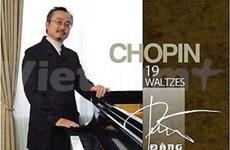 """Vietnamese pianist plays solo at """"Techcombank Concert"""""""
