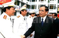 Party leader cares for Hanoi security