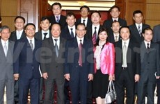Party chief stresses newly accredited ambassadors' tasks
