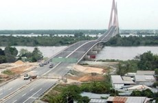 Accident-hit bridge project to finish construction soon
