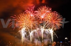 Fireworks set off nationwide on New Year Eve
