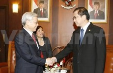 Vietnam, Indonesia define measures to boost legislative ties